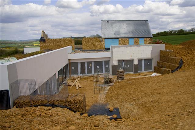 Rural building site