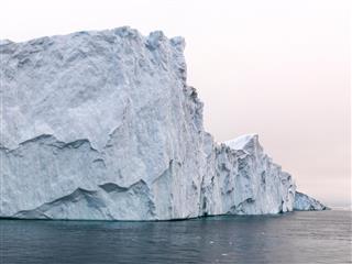 Huge glaciers