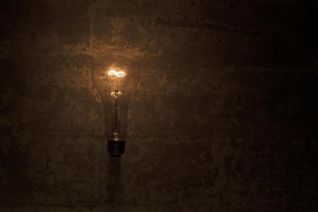 dimly bulb