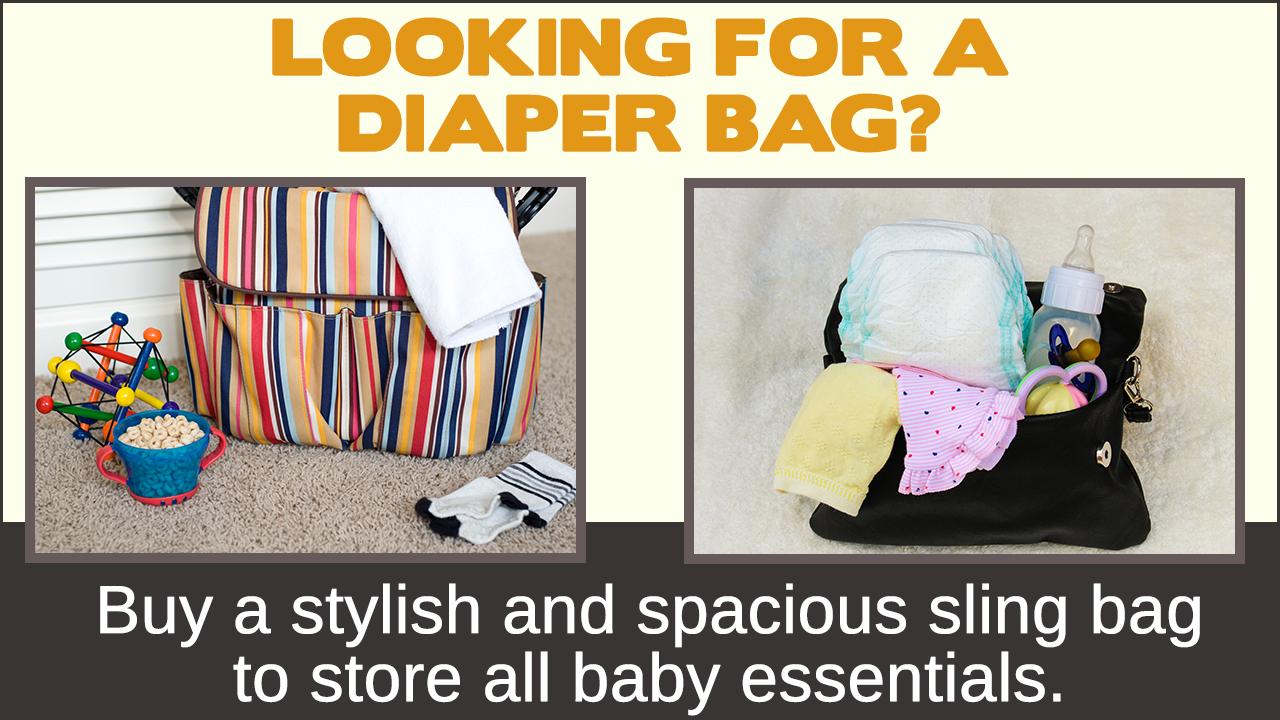 Designer Diaper Bags: Stylish Diaper Bags