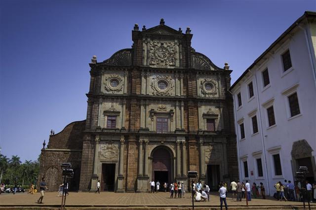 Basilica of Bom Jesus, Old Goa, India