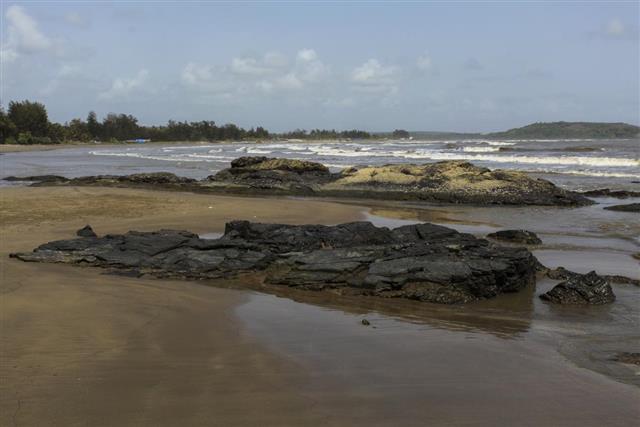 India morjim Beach GOA