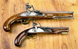 Real Flintlock Pistols