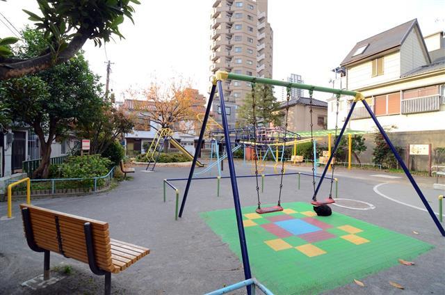 Children playground in Tokyo city