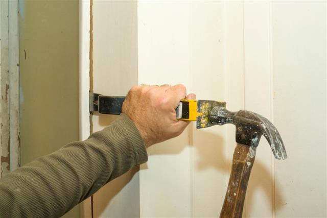 Removing Door Frame