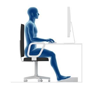 Good Posture Computer Work