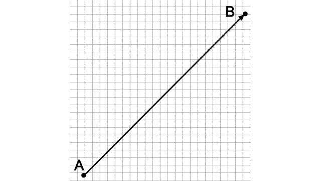 Line of vector