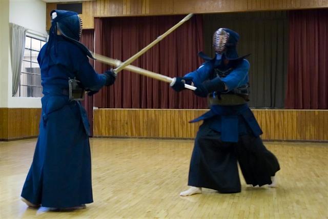 Indoor Kendo Practice