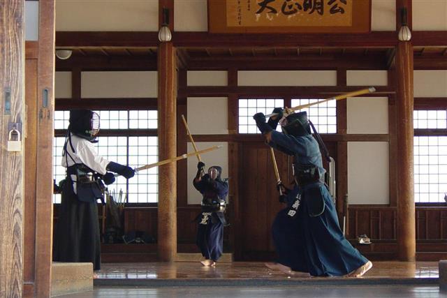 Kendo - martial arts combat