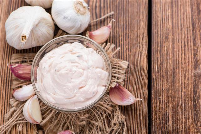 Fresh Garlic Sauce