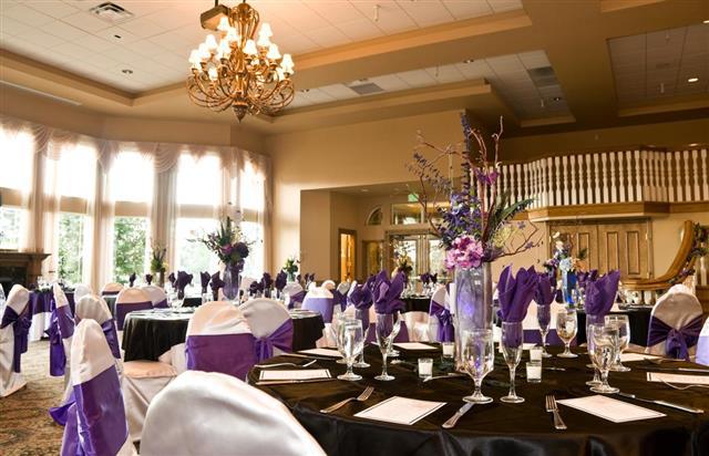 Wedding ballroom hall