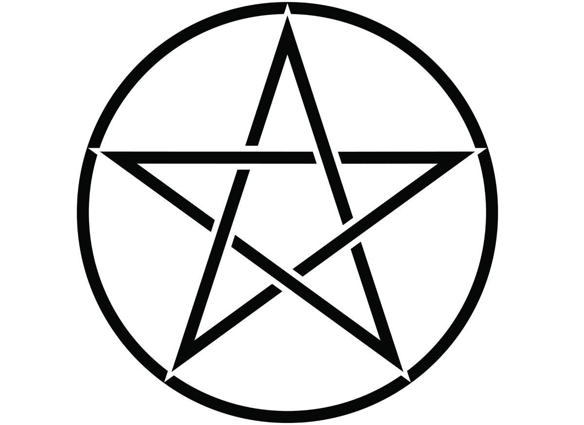 Wiccan symbols pentagram symbol buycottarizona Images