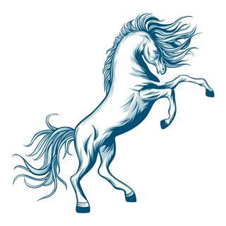 Prancing Horse Tattoo