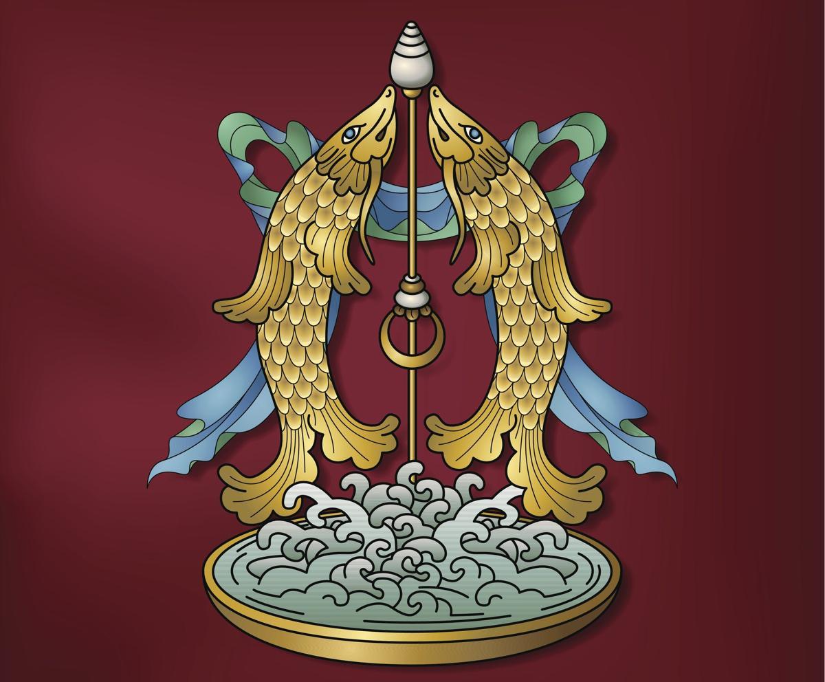 Tibetan symbols golden fish buddhism symbol buycottarizona Gallery