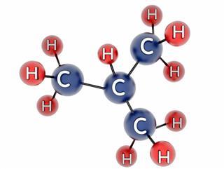molecule of butane