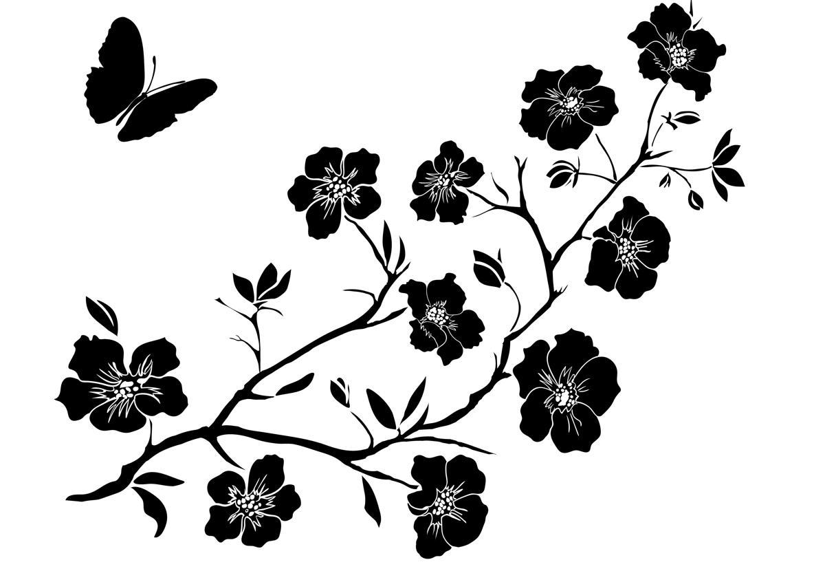 Japanese flower tattoos twig cherry blossoms izmirmasajfo