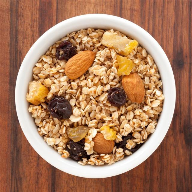 Luscious granola