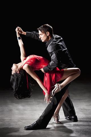 Latin Dance, Tango Dip