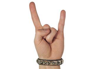 Horned Hand symbol