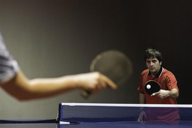 Table Tennis Match