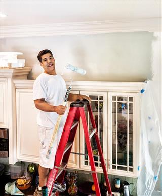 Painting kitchen walls