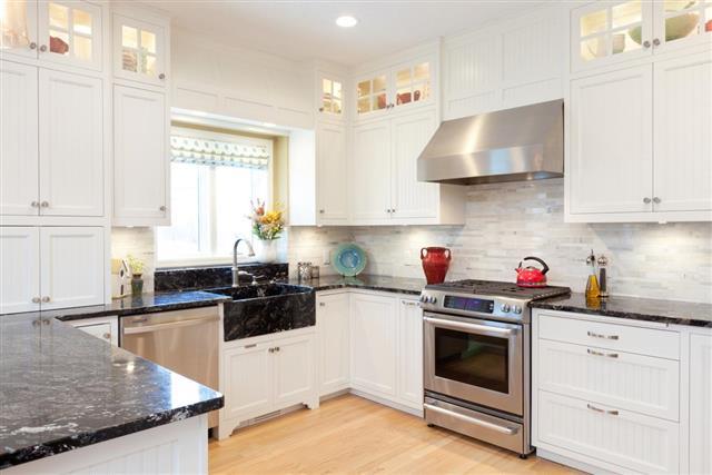 Modular furniture in kitchen