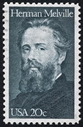 Herman Melville Stamp