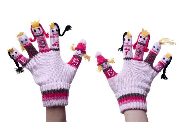 Ten Fingers puppet
