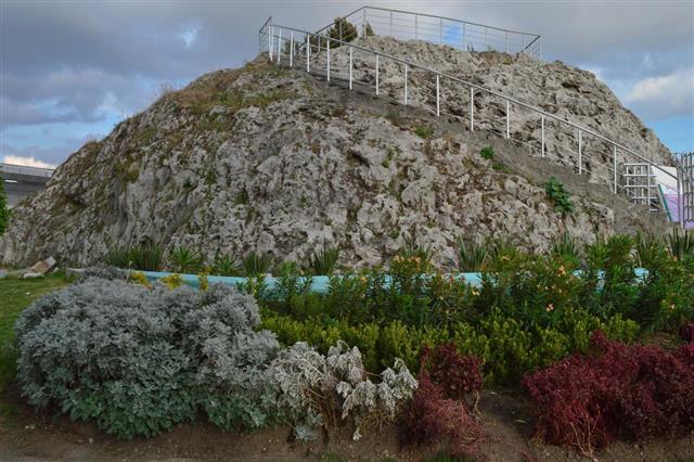 Cuexcomate - the smallest volcano in the world in Puebla