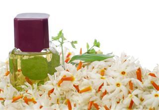 Jasmine oil bottle