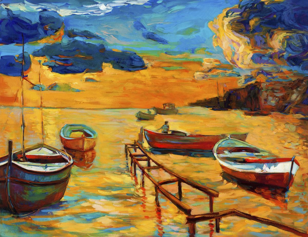 Artistic Interiors Il Painting  Seascape
