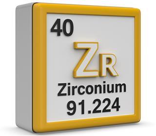 Zirconium item