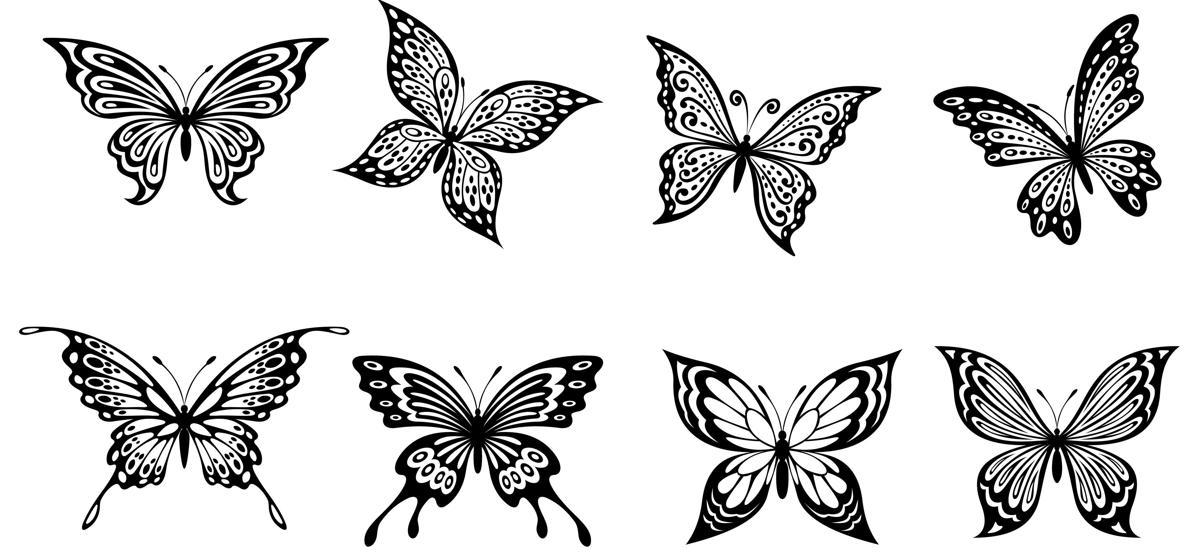 0dbaca83a Tribal Butterfly Tattoos