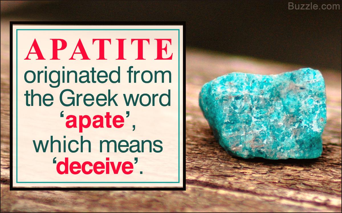 Apatite Uses