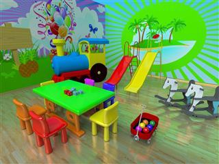 Nursery and Playroom