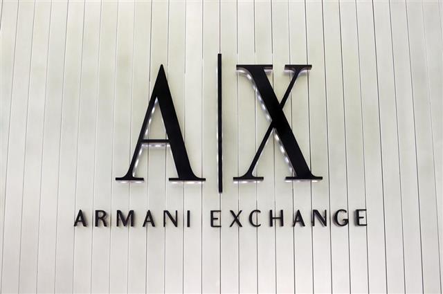 Armani Exchange Signage