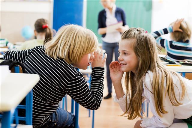 Gossip in classroom