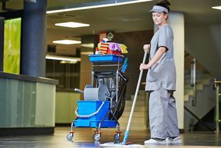 Hospital housekeeper job