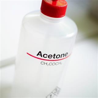 Acetone bottle