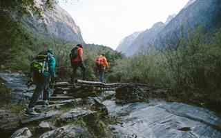 Himalayan trekking