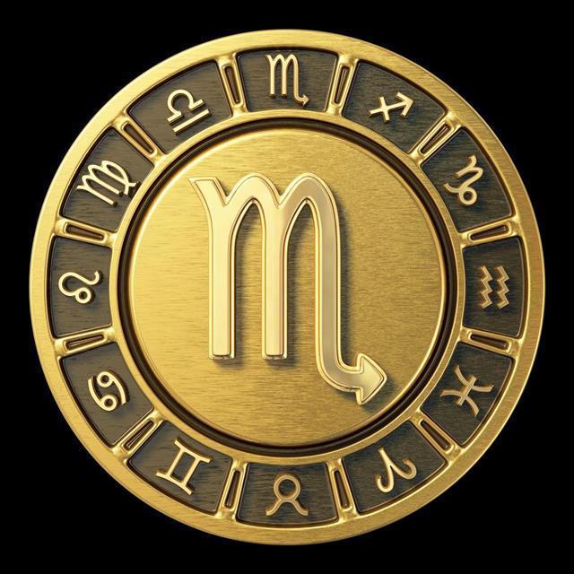 Gold Zodiac Wheel ??? Scorpio
