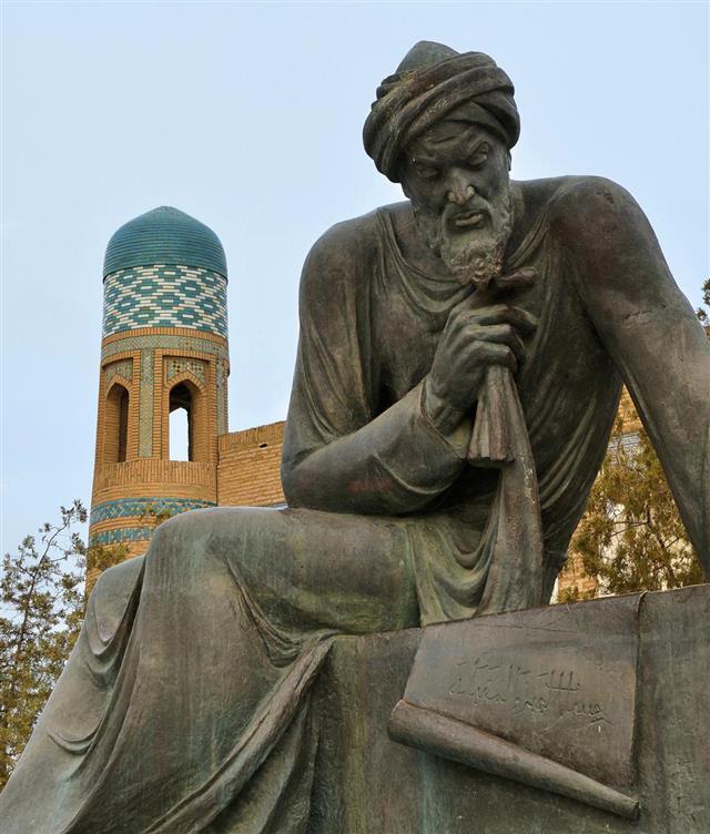 Al-Khwarizmi Monument in Khiva
