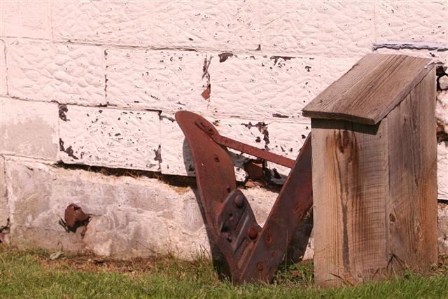Rusty plowshare
