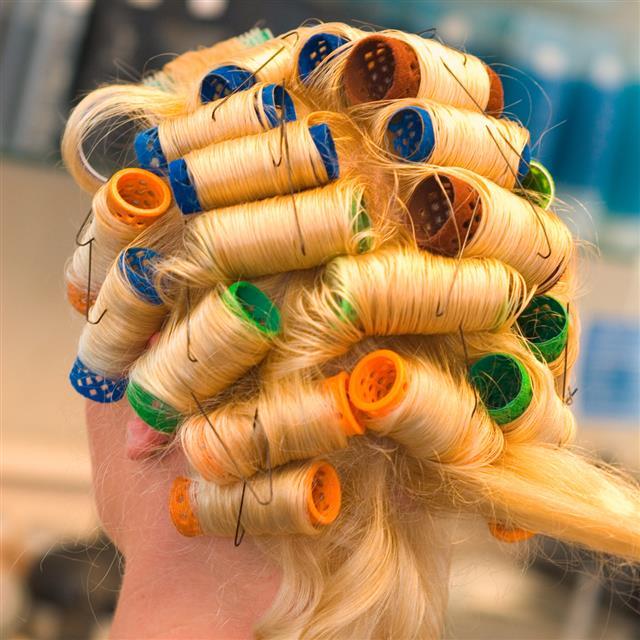 blonde pcurls