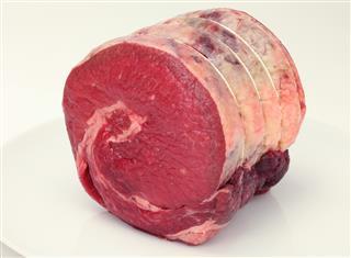 Beef brisket raw