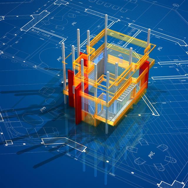Virtual house model