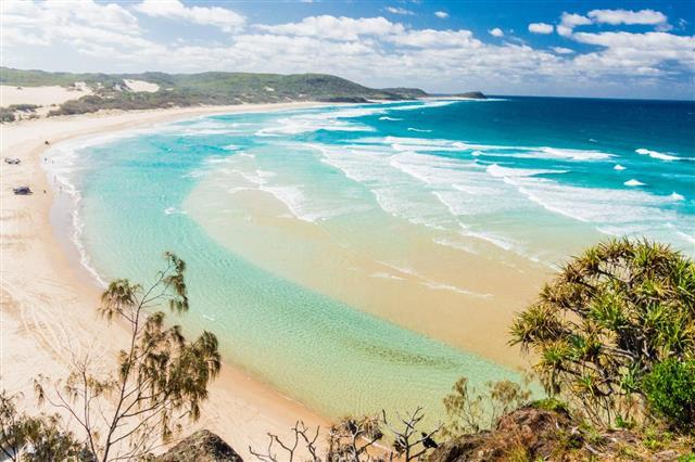 Beach of Fraser Island