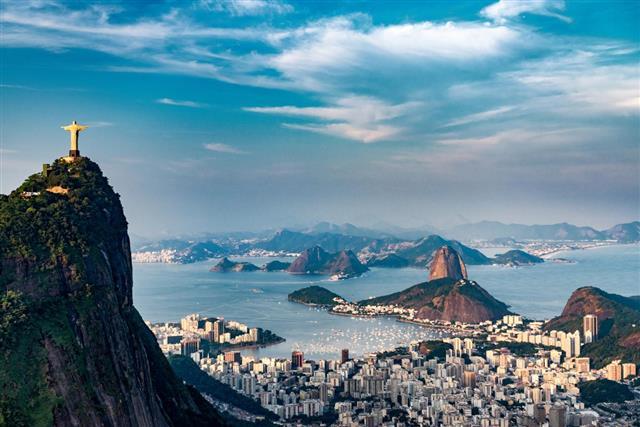 Rio De Janeiro Aerial