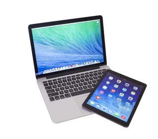 Mac Book Pro Retina and iPad Air