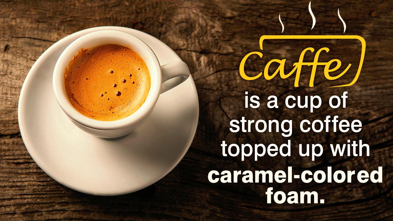 Italian Coffee Drinks